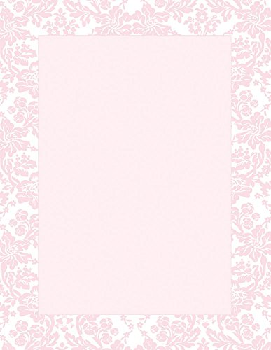 Great Papers! Blooming Pink Letterhead, 80 Count, 8.5