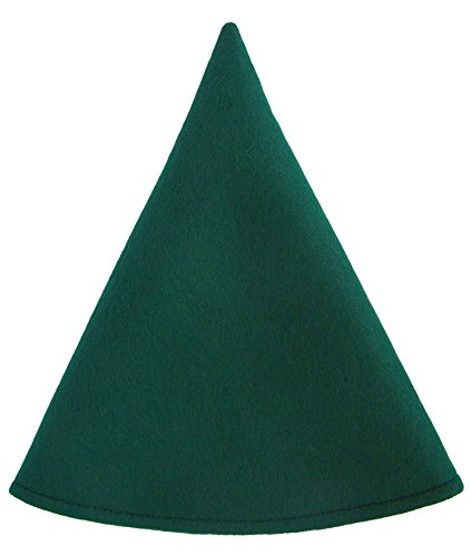 [Red Gnome Hat Boys Costume Cap (Elf Green)] (Gnome Hat)