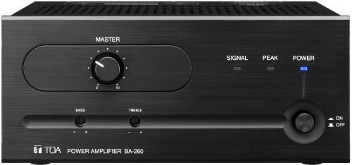 60w Power Amplifier (TOA BA-260 60 Watt Power Amplifier)