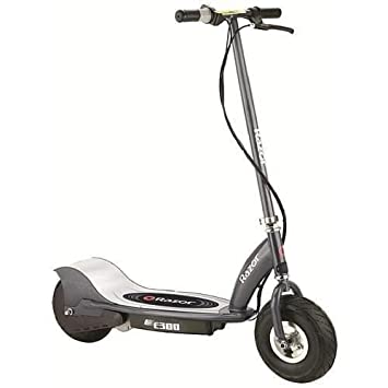 Razor-E300 Scooter eléctrico, Color Gris Mate, 0 (Razer RZ-E300-MG)