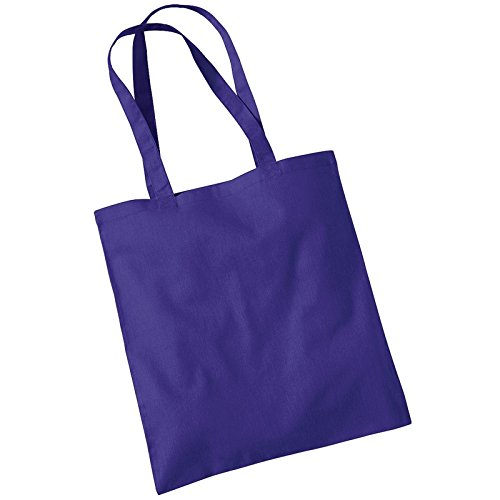 Carry Westford Cotton Tote Promo Bag Shoulder Womens Purple Mill YqxfFqR