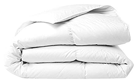 Egyptian Cotton Percale Caesar Duvet Cover White 400 Tc for UK 8 Ft x 8 Ft Beds