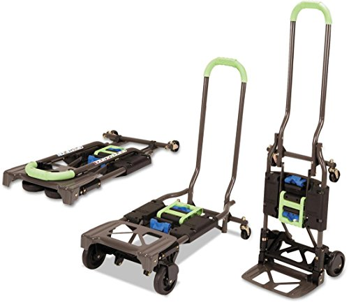 Cosco Shifter 300-Pound Capacity Multi-Position Heavy Duty Folding Hand Truck and Dolly, Green from Cosco