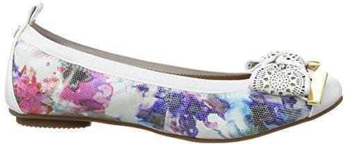 Moda in Pelle Damen Felisa Ballerinas Multicolour (Floral)