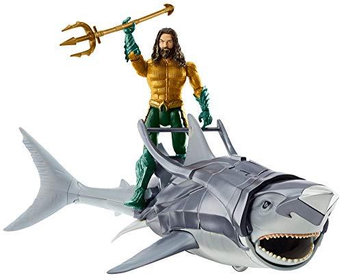 AQUAMAN & Warrior Shark Figure & Creature Pack