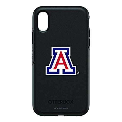 Fan Brander NCAA iPhone XR OtterBox Symmetry Series Case (Arizona Wildcats)