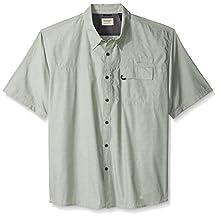 Wrangler mens big-tall Authentics Big & Tall Short Sleeve Utility Shirt