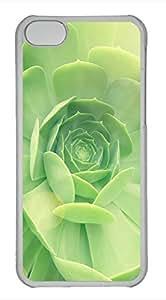 iPhone 5c case, Cute Succulent 2 iPhone 5c Cover, iPhone 5c Cases, Hard Clear iPhone 5c Covers