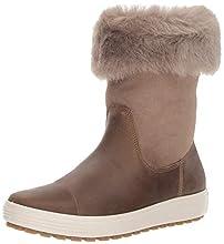 ECCO Womens Soft 7 TRED Boot, Botas Altas. para Mujer, Braun Navajo Brown Moon Rock 57511, 36 EU