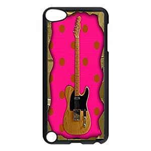 Fender Telecaster Collection Pattern Hard Durable Cover Case for Apple iPod 5th Generation