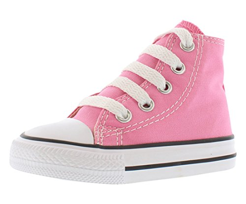 Taylor All Star Canvas High Top Sneaker Pink 5 M US Toddler ()