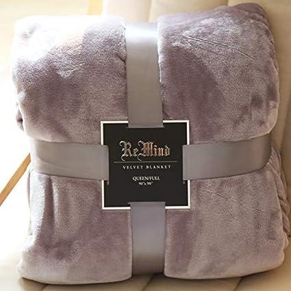 Amazon.com: FOREVER-YOU 229274 - Manta gruesa de franela ...