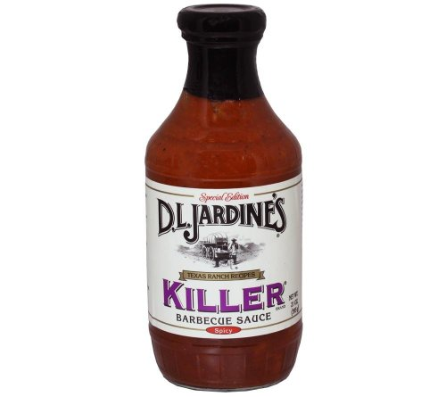 D.L. Jardine's Killer Barbecue Sauce Spicy, 18 oz(Pack of 2)