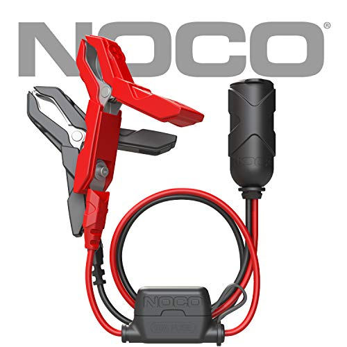 (NOCO GC017 12V Adapter Plug Socket with Battery Clamp)