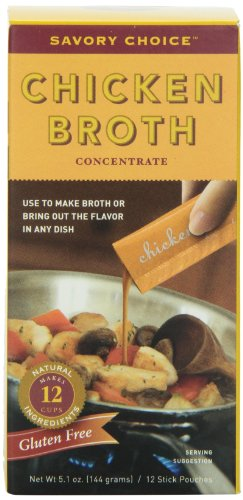 Savory Choice Chicken Broth Concentrate, 5.1 Ounce box (Savory Choice Chicken Broth compare prices)