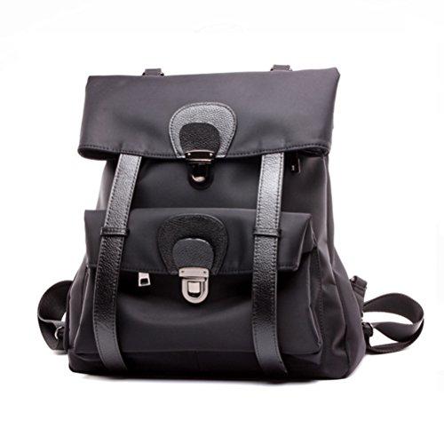 pour pour Zhuhaijq des Dos Dos Femme Sac Black en à Imperméable Sac Marchant Sac Mode Achats Voyage Sports à AWrPWIp