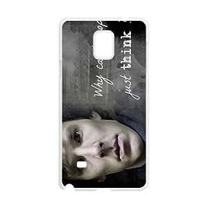 Magic Smart Sherlock Design Hard Case Cover Protector For Samsung Galaxy Note4