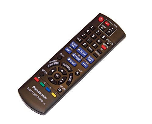 - OEM Panasonic Remote Control: DMP-BD87, DMPBD87, DMP-BD77, DMPBD77, DMP-BD871, DMPBD871