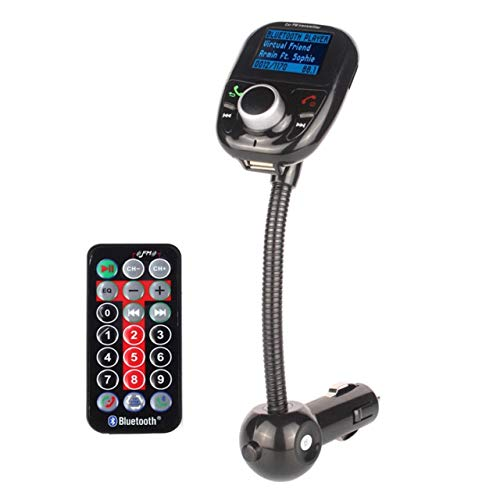 Wireless Car Kit MP3 Player FM Transmitter USB LCD Modulator MMC with Remote Control for Smartphone