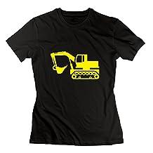 SHHY Women's Excavator T Shirt Black