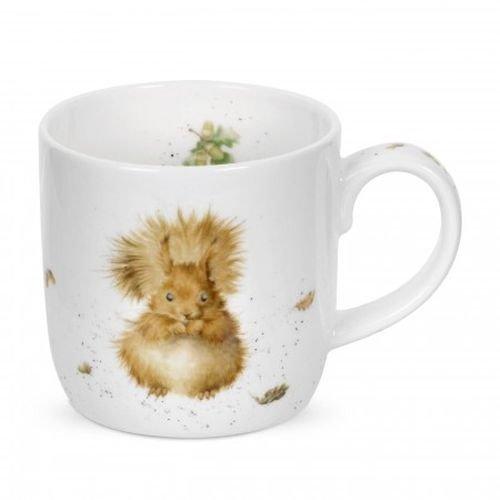 Wrendale - Treetops Redhead Mug - Squirrel
