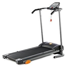 V-fit Fit-Start Motorised Folding Treadmill