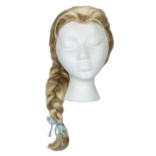 Jakks pacific uk Disney Frozen - Peluca de Elsa para niña de 3-4 años: Amazon.es: Juguetes y juegos