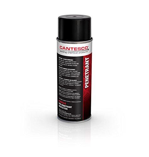 Visible Dye Penetrant System - CANTESCO P101S-A Red Visible Dye Penetrant, Solvent Removable