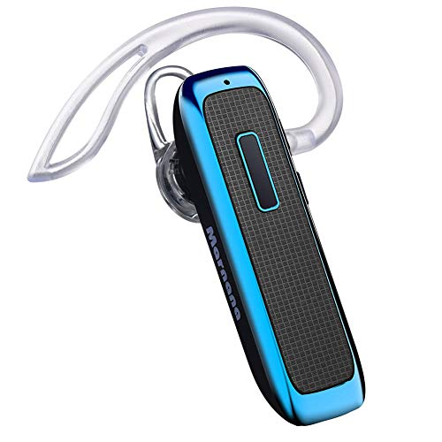 Bluetooth Headset, Marnana Wireless Earpiece with 18 Hours Playtime,Earbud Ear Pieces w/Noise Cancelling Mic Hands-Free…
