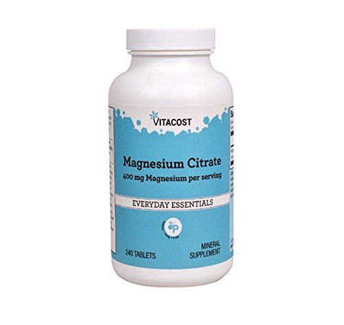 Vitacost Magnesium Citrate    400 Mg   240 Tablets