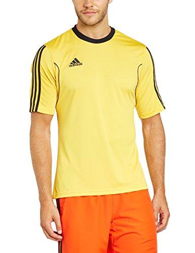 adidas Squad 13 JSY SS - Camiseta para hombre Amarillo / Negro
