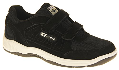 Belmont vera pelle nero Touch Sneakers Gola da uomo in camoscio 5RqdROxFw