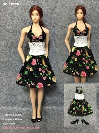 Artcreator_BM CC278 1/6 Sunshine Pattern One-piece Dress … by Artcreator_BM
