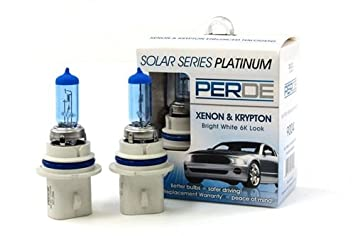 Perde Xenon 9007 Headlight Light Bulbs Diamond White 6000k For 97 03 Ford F150