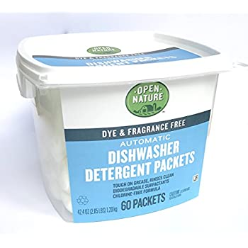 Amazon.com: Natural Automatic Dishwasher Detergent Pods
