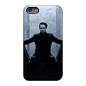 High Quality Hard Phone Covers For Iphone 6 (ZFE10445SABf) Unique Design Fashion Marilyn Manson Band Image