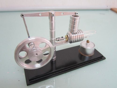 Walking Beam Hot Air Stirling Engine, Education Toys Gift + Express shipping 2-6 business days to USA
