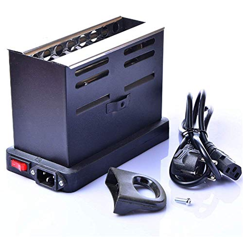 XZYP Arabian Modern Hookah Charcoal Stove Coconut Shell Charcoal Charcoal Hookah Special Heater Hookah (Best Electric Barbecue Grill In India)
