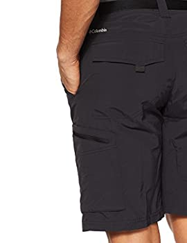 Columbia Men's Silver Ridge Cargo Shorts, Black, 36 X 12 2