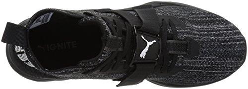 Mens Puma Accendono Evoknit 2 Sneaker Puma Nero-asfalto-puma Bianco