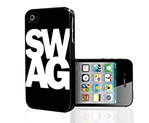 SWAG White Words on Black Backgroud (iPhone 5/5s)