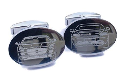 Hecho A Medida Coche Gemelos - Shape of tu coche Grabado en Calidad Superior gemelos - Range Rover Evoque: Amazon.es: Coche y moto