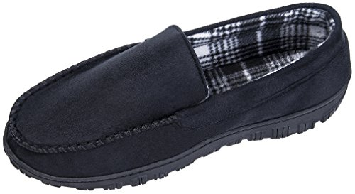 MIXIN Mens Casual Anti Slip Rubber Sole Indoor Outdoor Slip On Driving Loafers Moccasins Slippers Shoes