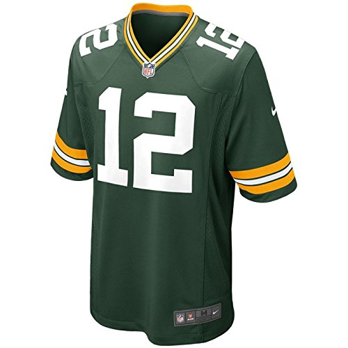 The Nike Green Bay Packers Aaron Rogers NFL Game Team Jersey Fir Size - Aaron Rogers Bay Packers Green