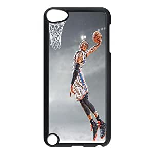 aqiloe diy C-EUR Customized Print Russell Westbrook Pattern Hard Case for iPod Touch 5