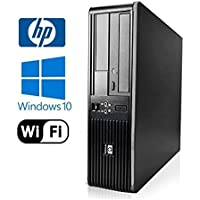 HP Compaq dc / Intel Core 2 Duo 2.53 GHz/New 4GB DDR2/500GB HDD/DVD-RW/Windows 10 Professional - (Certified Reconditioned)