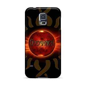 InesWeldon Samsung Galaxy S5 Excellent Cell-phone Hard Covers Provide Private Custom HD Godsmack Band Pattern [OAK325iOxn]