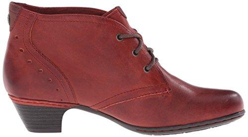 Aria Red Rockport Dark Women's Hill Boot Cobb Ch 0tAqFq
