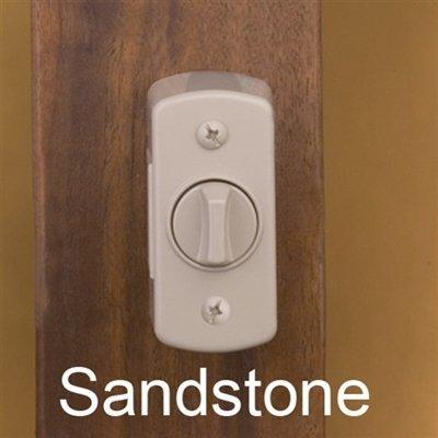 Storm Door Hardware Deadbolt Keylock - SANDSTONE-1 inch Thick Door