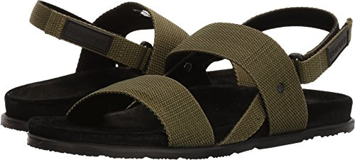 Hunters Hunter Boots Mens Double Strap Webbing Sandals Cactus mIDJA
